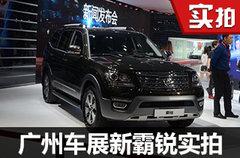 来自韩系的硬派SUV 新霸锐广州车展实拍