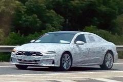 上汽奥迪A7L实车曝光 尺寸加长/车尾造型大变