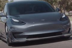 特斯拉Model 3改装版 碳纤维运动包围/造型低趴