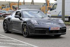 全新保时捷911 Turbo S或将于日内瓦车展发布