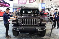 车展实拍全新Jeep牧马人 搭载8速+2.0T发动机