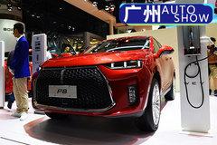 紧跟新能源车潮流 广州车展实拍体验WEY P8