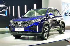 北京现代全新ix35正式亮相 外观全面升级/下月上市