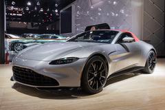 阿斯顿•马丁全新Vantage Roadster北京车展首发