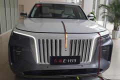 红旗旗舰SUV E-HS9今晚上市!多图实拍抢先看