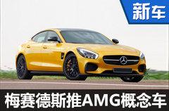 梅赛德斯-AMG将推GT4概念车 3月亮相