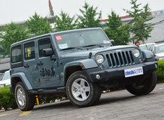 油耗8.8升 Jeep牧马人2.8TD柴油版实拍