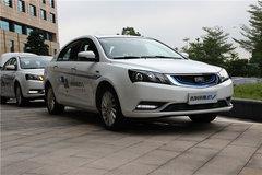 纯电动车型的新选择 吉利帝豪EV车展实拍
