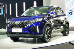 北京现代新款ix35发布 外观设计更年轻-尺寸加长