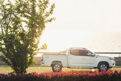 价格最低的柴油自动挡皮卡,国六标准+宽体车身