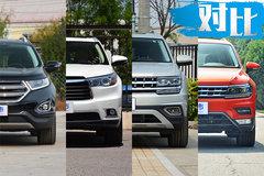 首付5万开走中大型SUV 四款主流SUV车型推荐