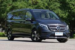 奔驰新V级47.8万起售 内外更豪华 标配空气悬架