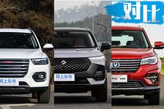 国民SUV新标杆 新宝骏RS-5对比哈弗H6/长安CS75