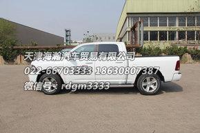 道奇公羊皮卡车型高清图片