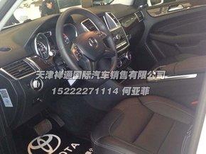 新款奔驰ml350美规版内饰中控高清图片