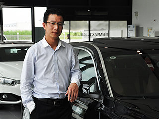 专访上海宝尊总经理林敏杰