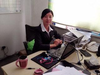 访上海大众市场经理闫海霞