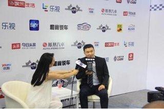 车展采访现代江君先生