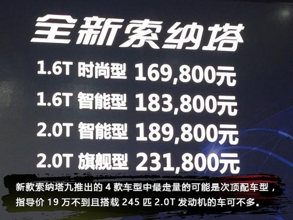 外观更加激进 北京现代新款索纳塔九实拍-图1