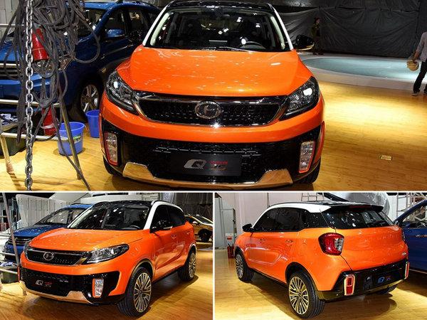 昌河全新小型SUV-8月上市 预计6.59万起-图2