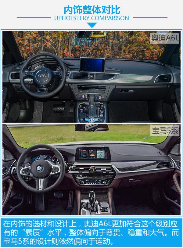 全能型豪华轿车如何选? 奥迪A6L对比宝马5系-图1
