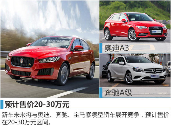 捷豹推新紧凑型轿车 预计售价20-30万元-图3