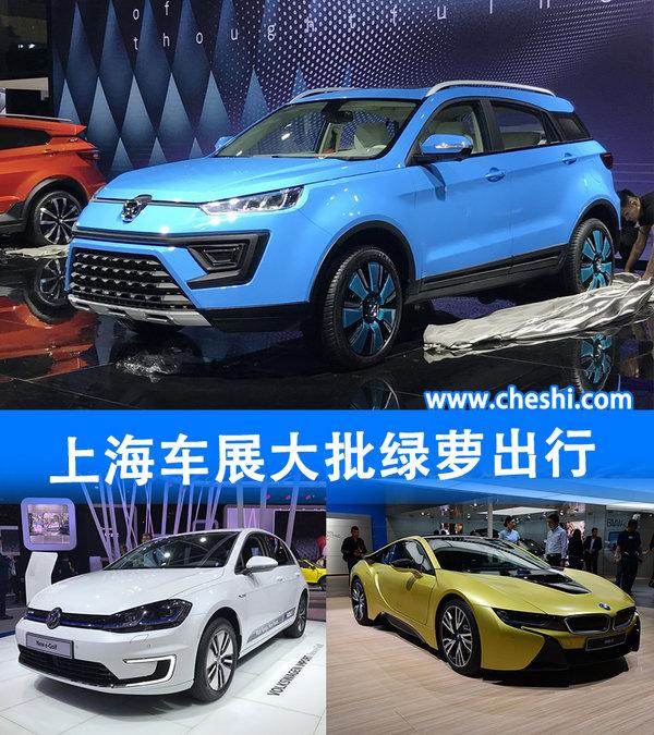 上海车展大批绿萝出行 哪些车型真够绿-图1