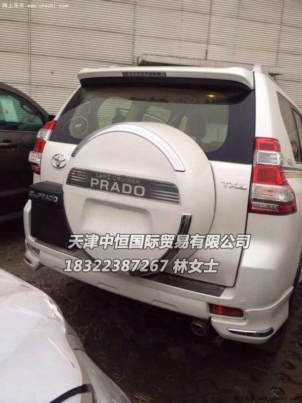 2016款丰田霸道4000 进口普拉多港口价格高清图片