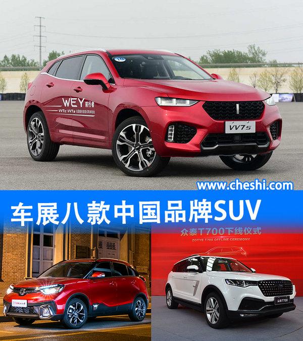 提振销量的催化剂 车展八大中国品牌新SUV-图1
