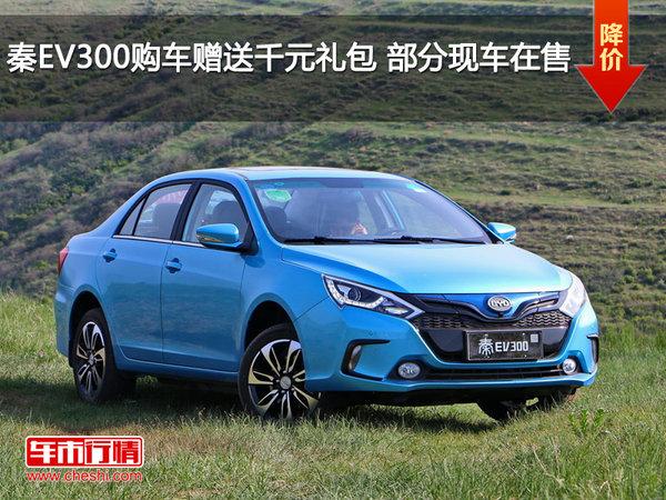秦EV300购车赠送千元礼包 部分现车在售-图1