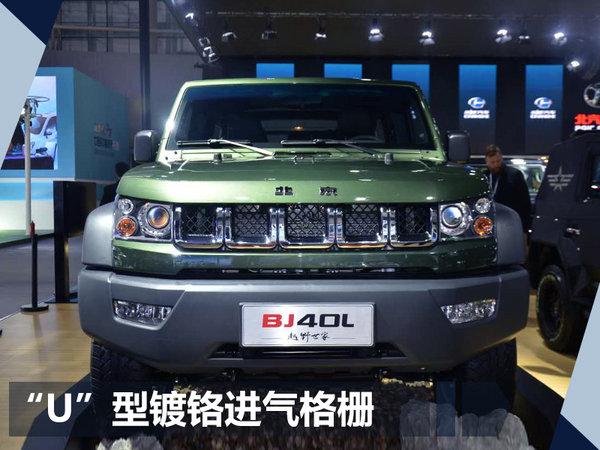 北京汽车BJ40柴油版首发 搭2.0L自然吸气发动机-图2
