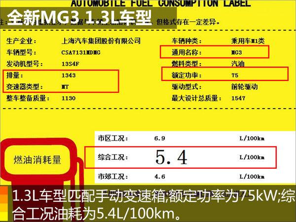 新款MG3内饰图曝光 延续名爵ZS设计风格-图4