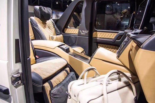奔驰迈巴赫G650全球99台限量 现车高清拍-图8