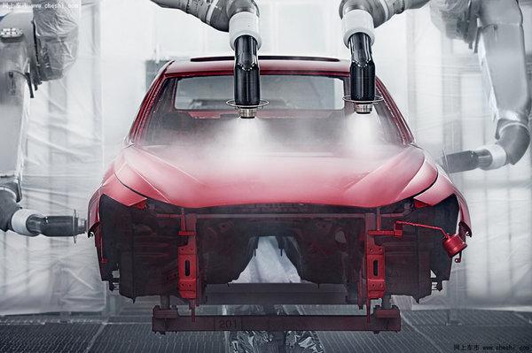 0L微粒化清漆喷涂机器人-全新英菲尼迪Q50L以 巨匠 铸就豪华