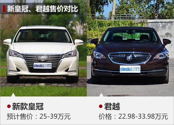 一汽丰田新皇冠撤销2.5L车型 装备晋级-图5