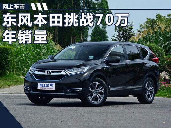 东风本田再次提高年销量目标 将挑战70万辆-图1
