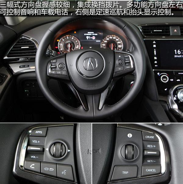 广汽讴歌CDX实拍 内饰部分 讴歌CDX 长沙车市高清图片
