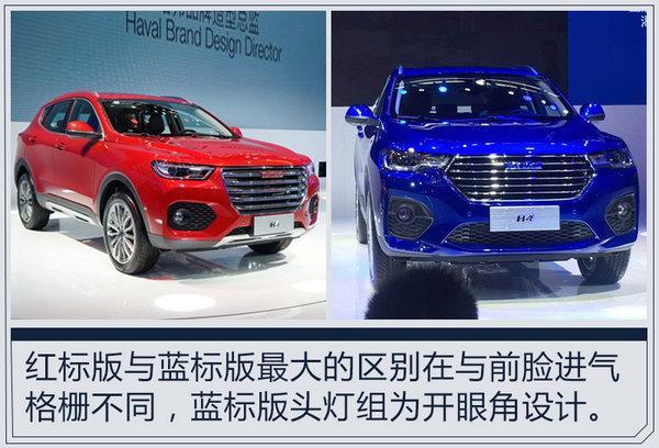 哈弗H4全新紧凑型SUV亮相 搭1.3T与1.5T引擎-图2
