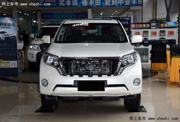 2017款丰田霸道2700中东版开创了豪华SUV之先河,备受媒体和消高清图片