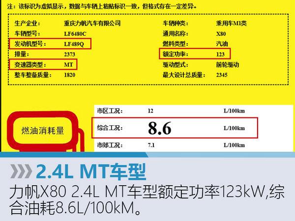 """力帆版""""汉兰达""""7月上市 搭2.0T发动机-图1"""