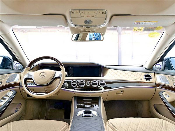 17款奔驰迈巴赫S600 尊贵豪华轿车福利降-图4