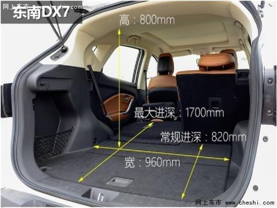 东南DX7吉利博越 哪款更值得买-图6