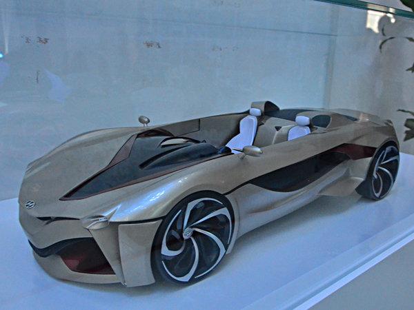 来自未来的汽车 2014现代汽车设计大赛