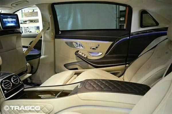 17款奔驰迈巴赫S600 含消费税享独家让利-图11