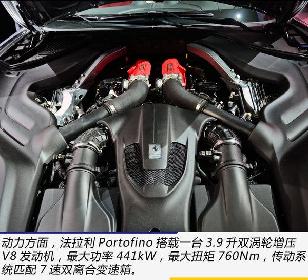 Fphone SE开卖了 广州车展实拍法拉利Portofino-图11
