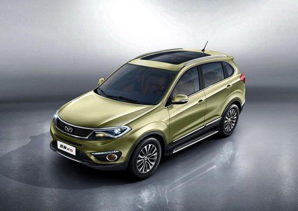 凯翼X5官图发布预9月上市 定位紧凑型SUV-图2