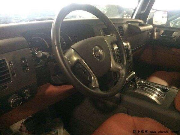 全国仅一台悍马H2皮卡典藏版 整车无改装-图6
