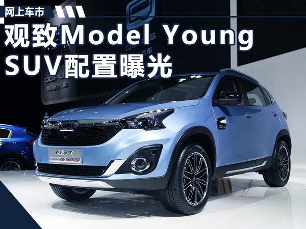 观致Model Young SUV将上市 详细配置提前看-图1