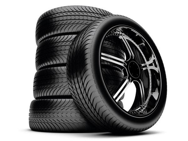 较常见的轮胎花纹有四种类型,即横沟花纹,直沟花纹,直横交错花纹,块状
