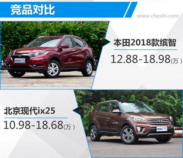 广汽本田2018款缤智正式上市 售12.88-18.98万-图3
